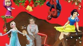 Белоснежка, Эльза, Человек-паук, Маша и другие поздравляют с Наступающим Новым годом!