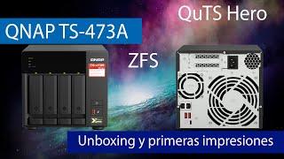 QNAP TS-473A: Conoce este potente servidor NAS con puertos Multigigabit y QuTS Hero con ZFS