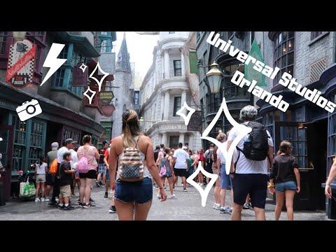 Universal Studios Orlando Vlog! 3 Parks In One Day!