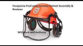 Husqvarna ProForest Forestry Helmet