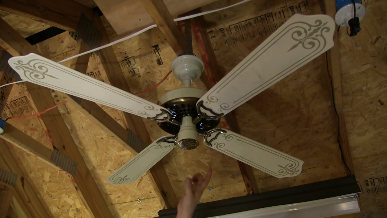 "48"" Classic Fan Inc. Hunter Original Copy Ceiling Fan ..."