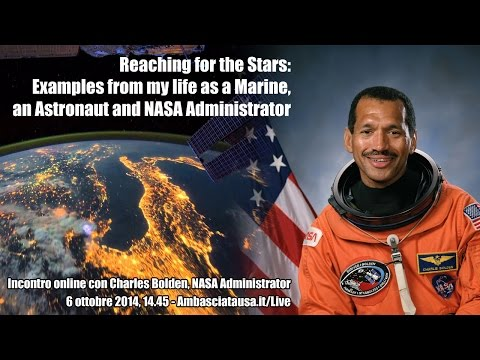 Reaching for the Stars. Incontro con Charles Bolden, NASA Administrator