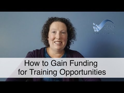How to Get Funding for Training