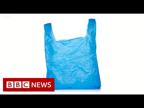 How plastic bags were supposed to help the planet - BBC News