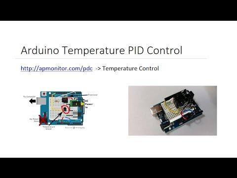 Arduino Temperature PID Control in Python