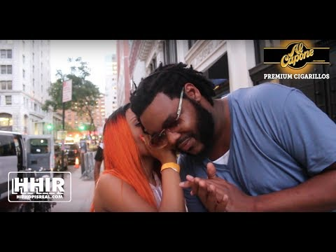 JAZ THE RAPPER WHISPERS IN CALICOE'S EAR THE RESULTS OF DOUBLE IMPACT 2