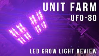 Unit Farm UFO-80 170 LED svetloba Watt Grow Light Light