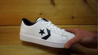 Converse Pro Leather Ox White Navy