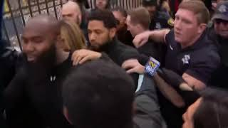 Jussie Smollett leaves jail: 'Empire' actor charged with faking attack