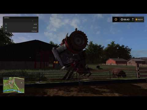 Farming Simulator 17 funny glitch