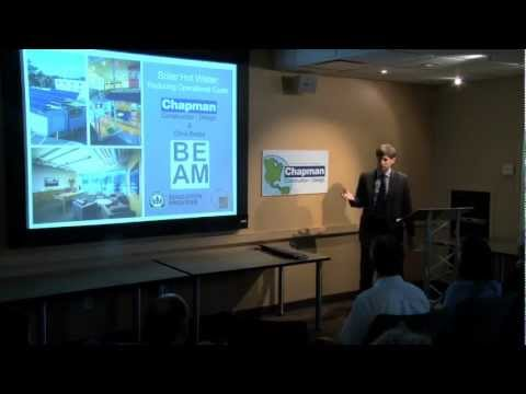 Solar Hot Water: Reducing Operational Cost - presentation by Chris Beebe of BEAM Engineering