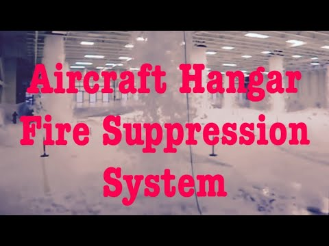 Ansul High Expansion Foam Test On F 22 Maintenance Hangar