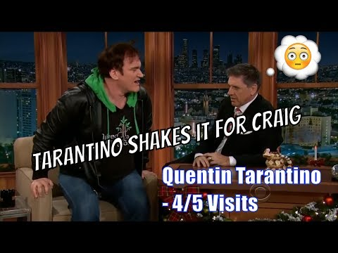 Quentin Tarantino - The French Love Tarantino - 4/5 Visits In Chronological Order [240-720]