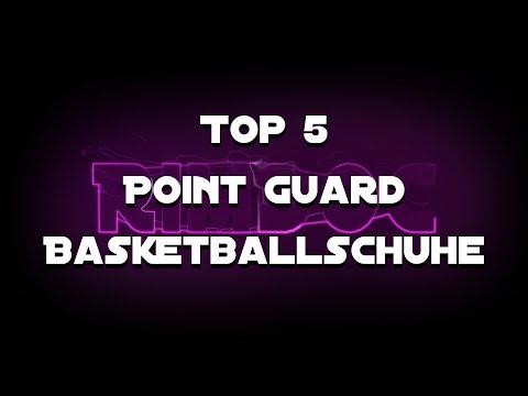 Top 5 Basketballschuhe für Point Guards 2018