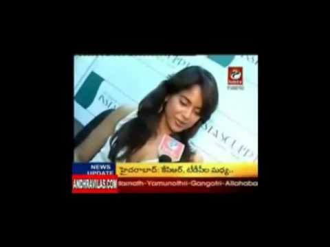 Sameera reddy about NTR.wmv