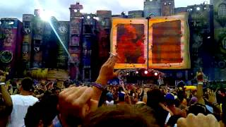 Download Tomorrowland 2012 - Mainstage - You blocked me on facebook, now you're going to die! MP3 song and Music Video
