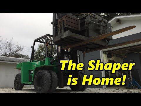 "Bringing the 32"" Gould & Eberhardt Shaper Home"