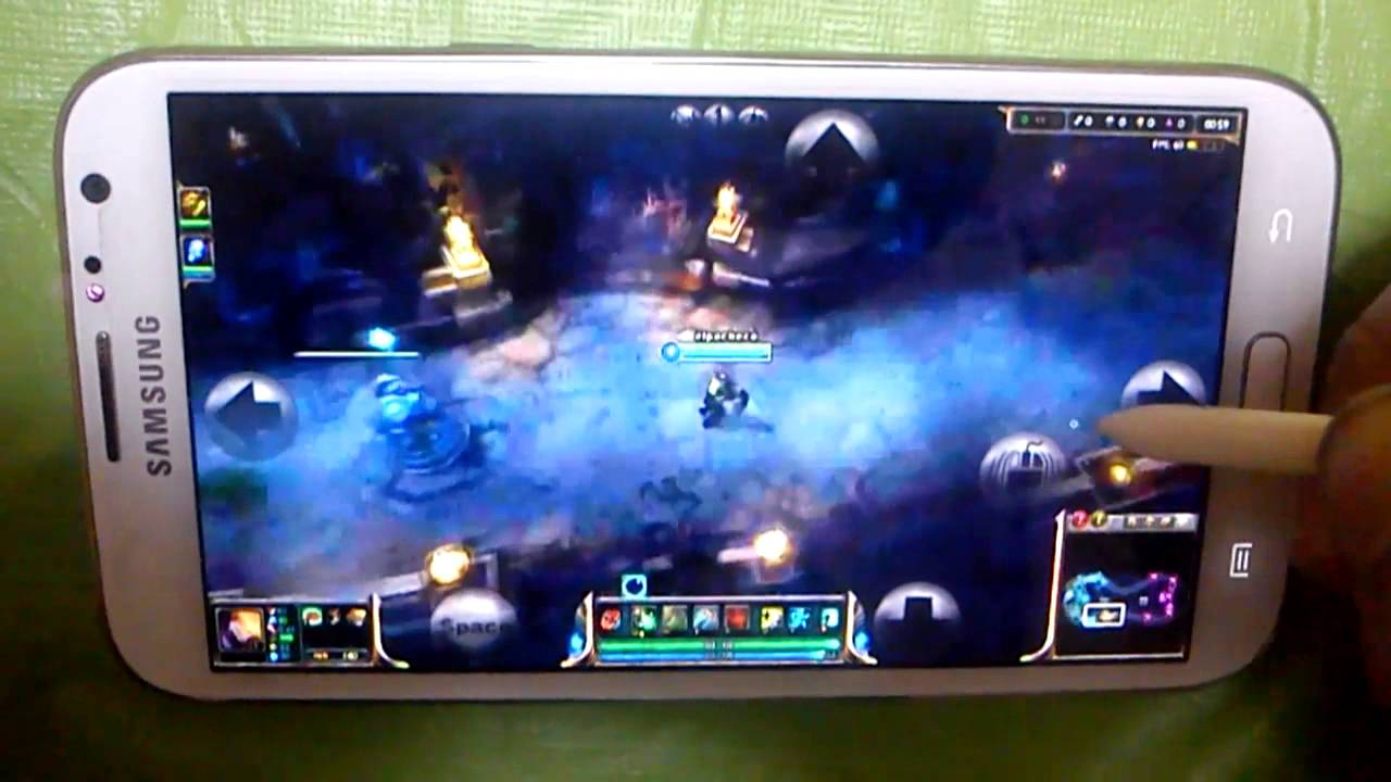 League of legends android   YouTube League of legends android