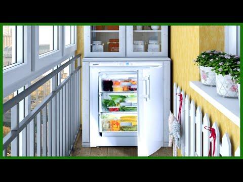 Можно ли ставить холодильник на балкон