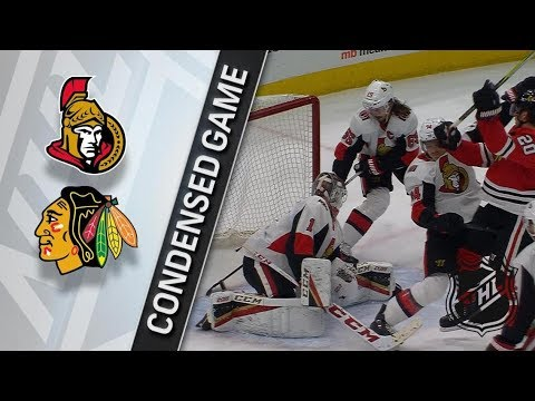 Ottawa Senators vs Chicago Blackhawks – Feb. 21, 2018 | Game Highlights | NHL 2017/18. Обзор