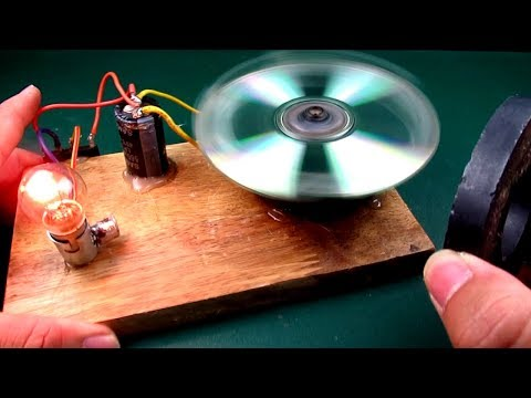 Free energy generator with Magnet 100% Real | New Technology idea projects at School