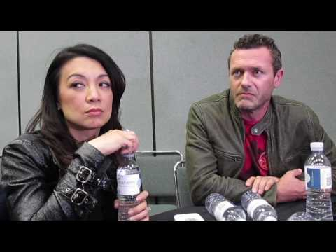 MingNa Wen & Jason O'Mara for Agents of SHIELD at Wondercon 2017