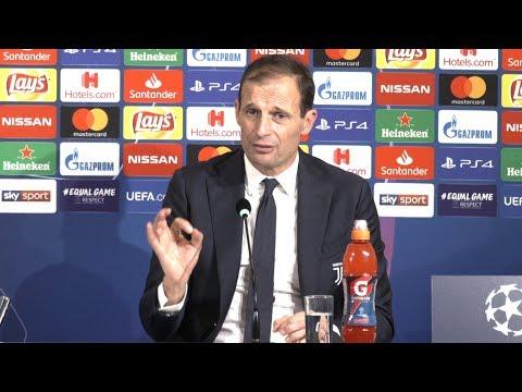 Juventus 1-2 Manchester United - Massimiliano Allegri Post Match Press Conference - Champions League