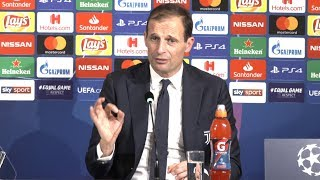 Juventus 1-2 Manchester United - Massimiliano Allegri Post Match Press Conference - Champions League