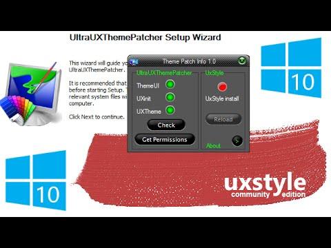 windows 10 theme patcher