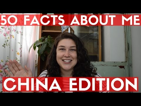 50 FACTS ABOUT MY LIFE IN CHINA | American Girl In Beijing