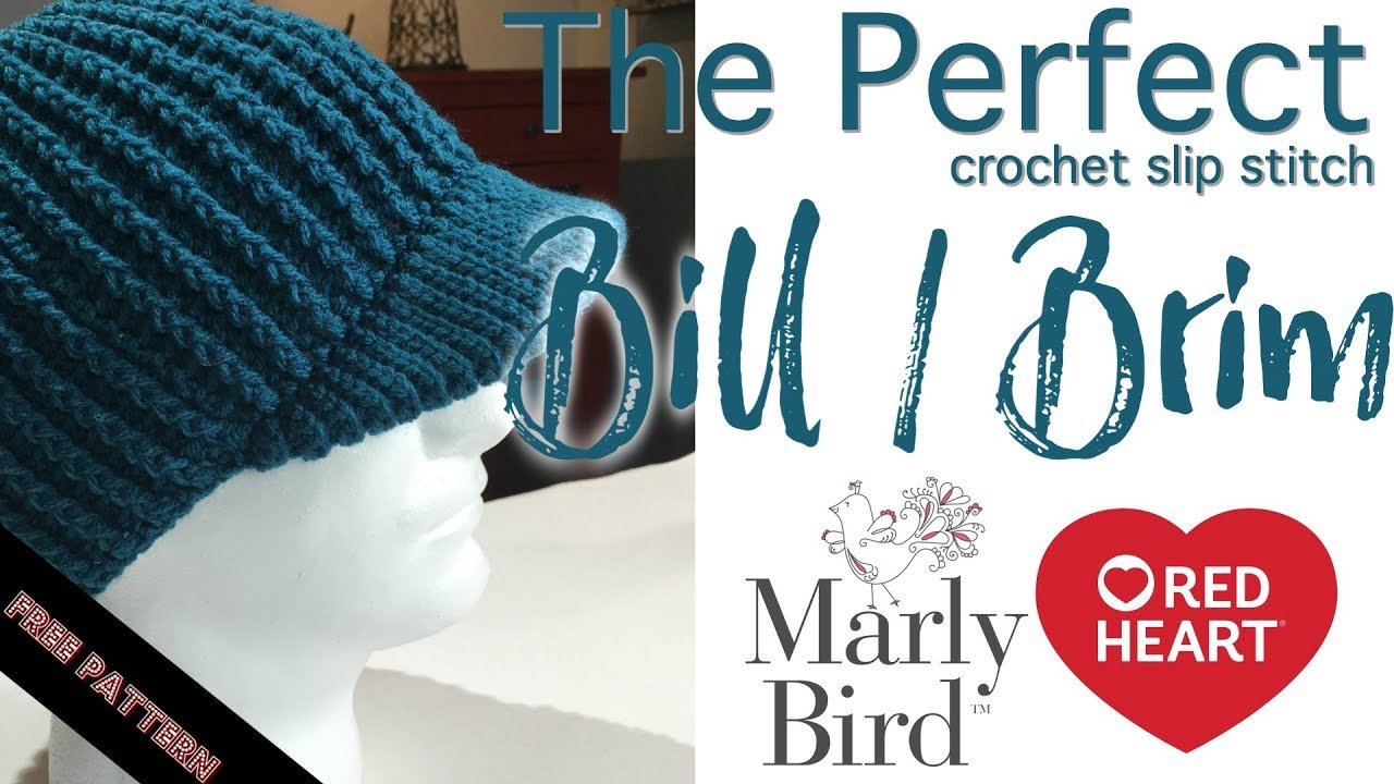 6a56a0268d9 Perfect Crochet Slip Stitch Brim - YouTube