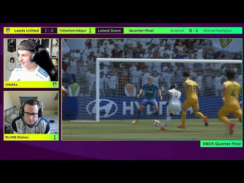 Leeds United's Ollelito qualifies for ePremier League FIFA 21 Grand Finals with 13-2 win over Spurs!