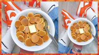 I TRIED Making Mini Pancake Cereal! Viral TIK TOK Recipe