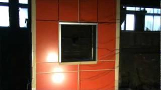 Огневые испытания панелей Алюком FR и А2(, 2011-02-04T07:31:44.000Z)