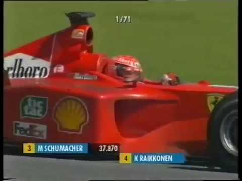 "F1 Austria 2001 The legendary ""Let Michael pass for the championship"" team radio (Premiere)"