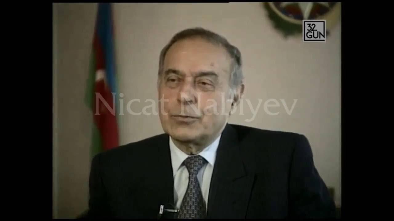Heydər Əliyev: hakimiyyəti Sürət Hüseynovla birlikdə idarə edəcəm.