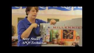 APQS Instructional: Needle Up-Down Adjustment--Fluorescent Light Machines
