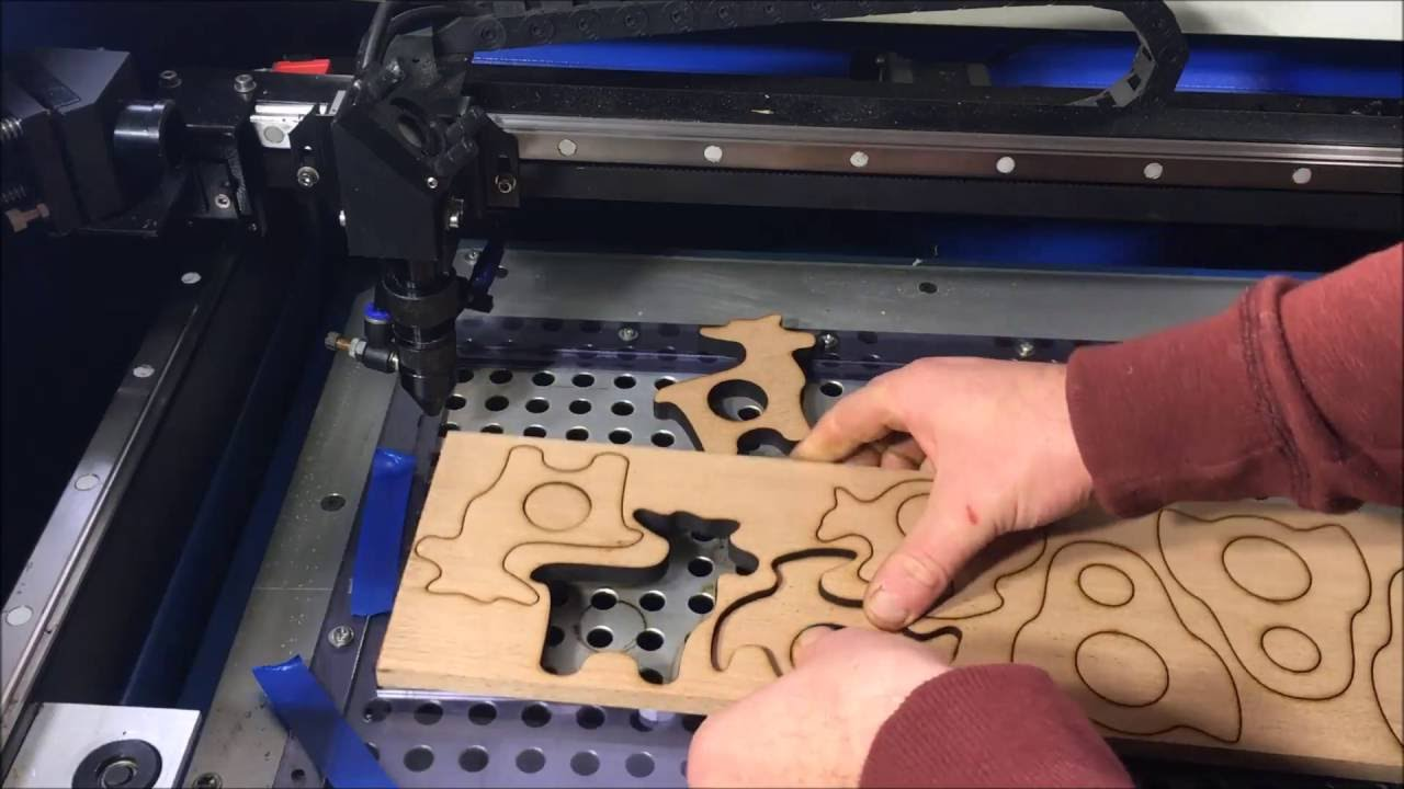 Laser cutter for metal and wood