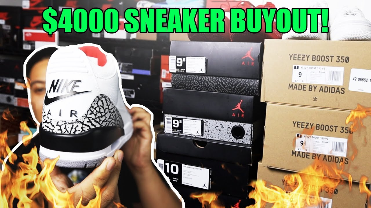 EP. 3 - RESELLING SNEAKERS FOR CASH! 💰 ($4000 BUYOUT)