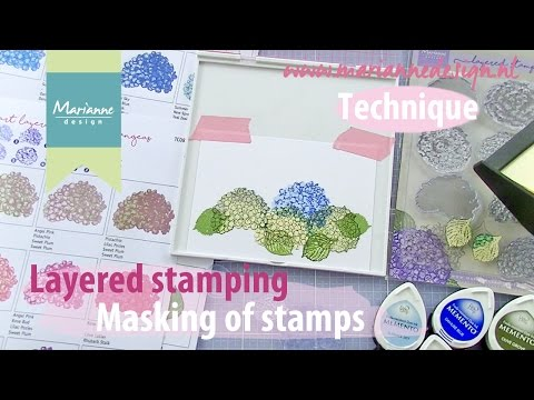 Layered Stamping - Masking your Stamps