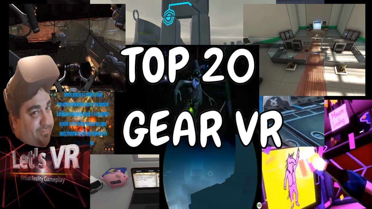 Top 20 Mejores Juegos Gear Vr Realidad Virtual En Espanol Youtube