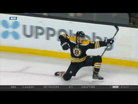 Ryan Donato's NHL debut, 1st goal 3/19/18