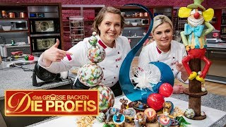 XXL-Zirkus-Kuchen und süße Tier-Muffins | Verkostung | (1/2) | Das große Backen – Die Profis | SAT.1