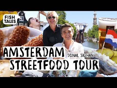 Trying DUTCH Street Food Tour with DONAL SKEHAN! Part 2 | Bart van Olphen