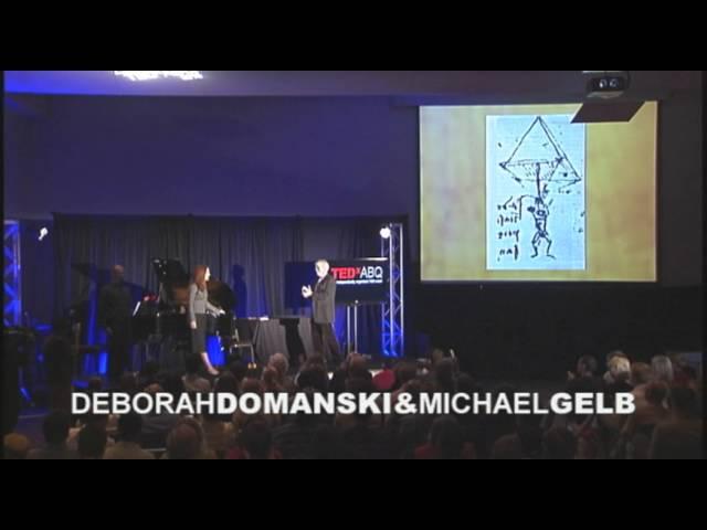 TEDxABQ - Michael Gelb & Deborah Domanski -