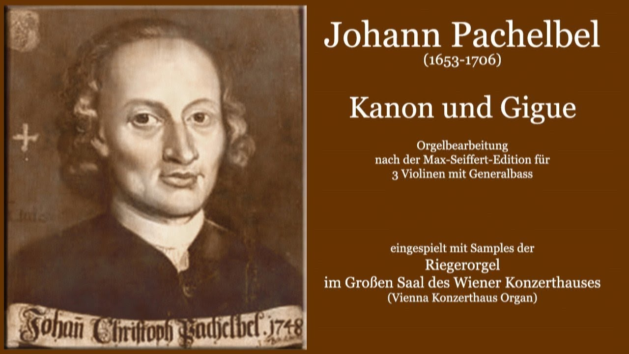 Kanon Johann Pachelbel