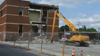 They're Tearing Down The American Legion In Martinsburg, WV