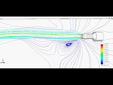 Example of Transient Flow by SolidWorks Flow Simulation  FEAcoil
