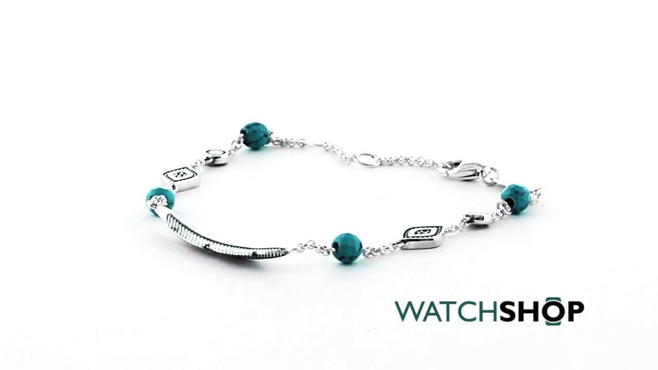 Thomas Sabo bracelet turquoise A1477-646-17-L19,5v Thomas Sabo