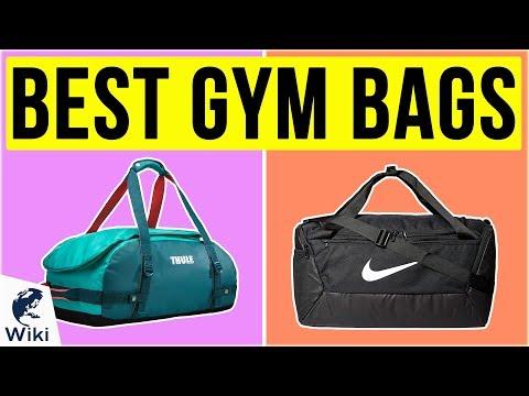 10 Best Gym Bags 2020